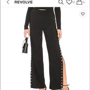 About Us Snapside Highwaisted Pants- Revolve